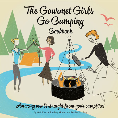 Gourmet Girls Go Camping book cover