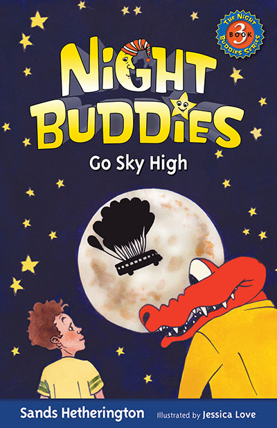 Night Buddies Go Sky High book cover