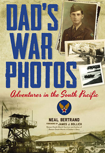 Dad's War Photos book cover