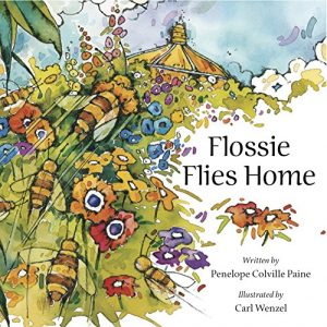 Flossie Flies Home book cover
