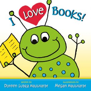 I Love Books book cover