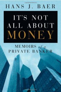 It's Not All About Money book cover