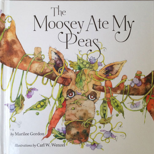 The Moosey Ate My Peas book cover