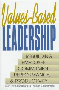 Values Based Leadership book cover
